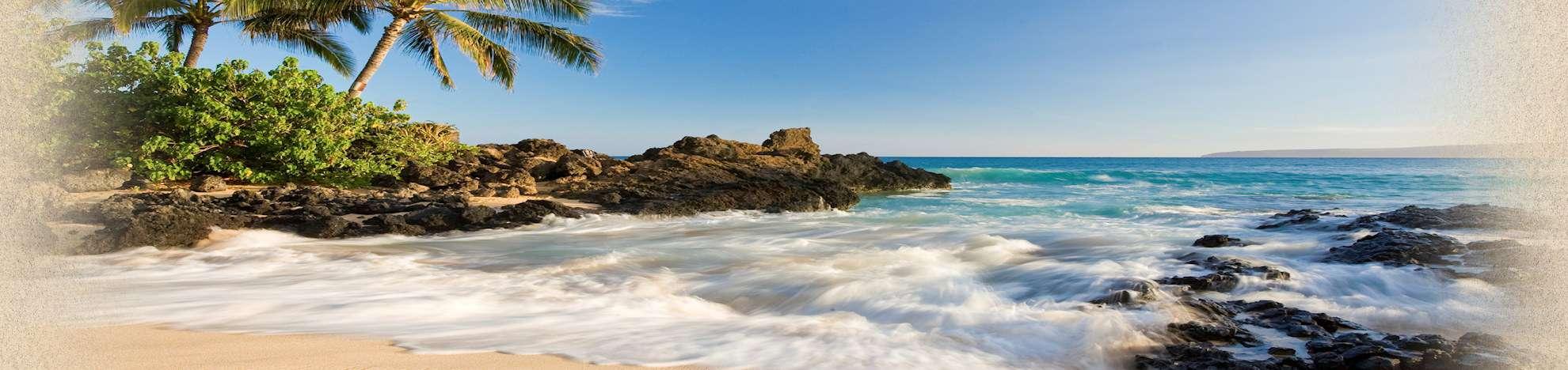 photo of a beautiful beach on Maui, Hawaii