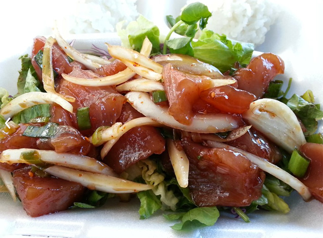 Like Poke foodtruck Maui
