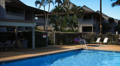 Kihei Bay Vista swimming pool