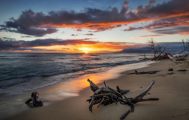 Somewhere between Ma'alea and Lahaina in West Maui