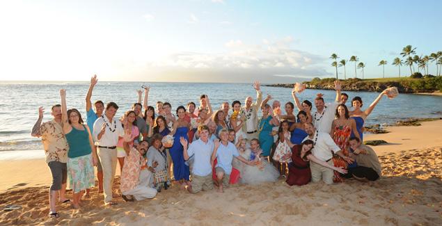 Kapalua Bay wedding Maui