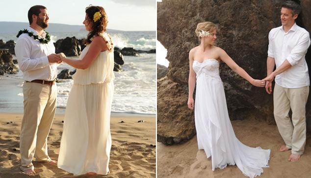 Secret Beach Maui Wedding venue