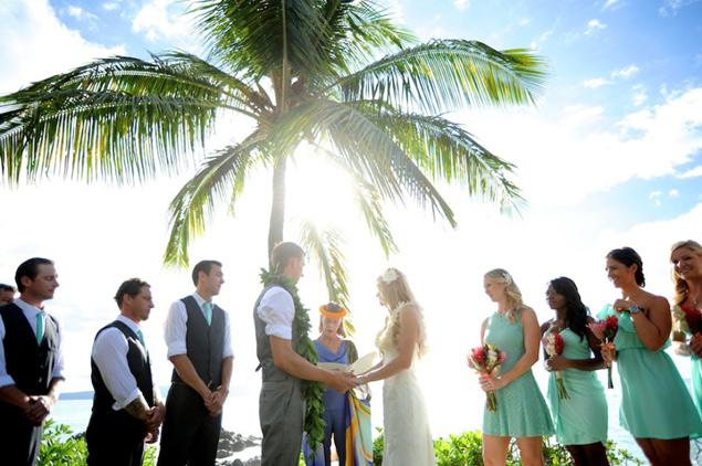 Sugarman Estate wedding Maui