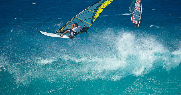 Hookipa Maui windsurfing