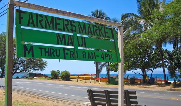 Maui farmers markets