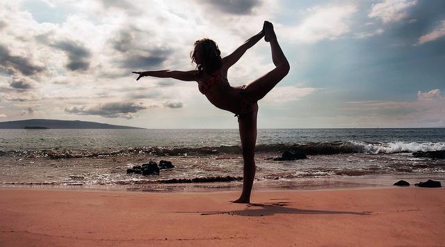 yoga on Maui