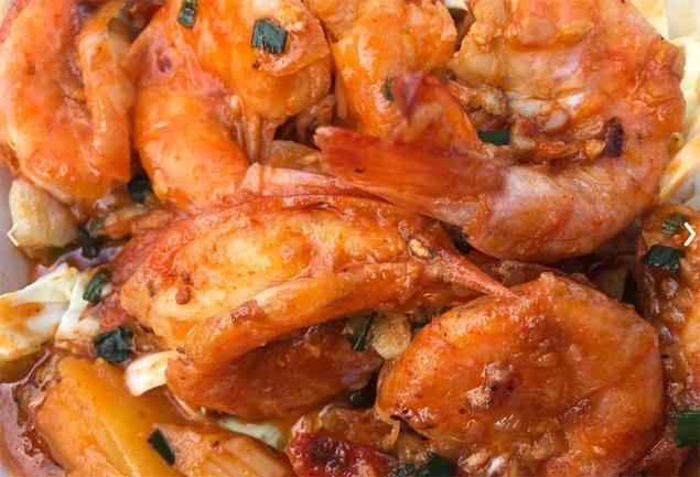 Geste shrimp foodtruck Maui