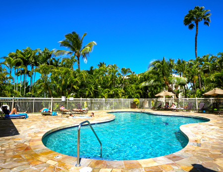 Maui Banyan swimming pool