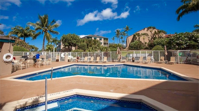 Pacific Shores condo Kihei Maui pool