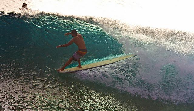 Maui style longboarding