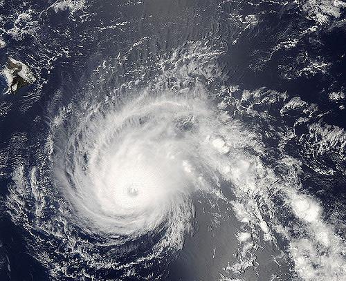 Hurricane Flossie, 2007