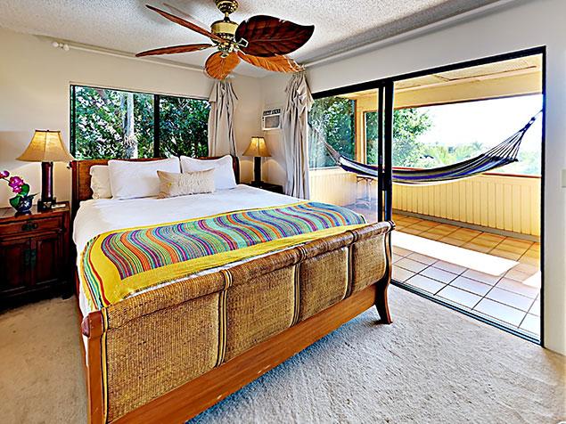 Maui Bliss villa Wailea vacation rental bedroom